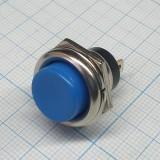 Кнопка круглая синяя