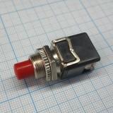 Кнопка красная 12 мм