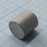 Ручка диаметр 14, высота 15, отверстие 4, алюминий