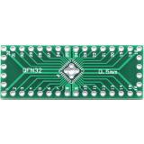 Переходник QFP32 (QFN32) + QFP40 (QFN40) 0.5 мм