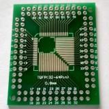 Переходник TQFP (QFP) 32-100 Pin, 0.5 мм и 0.8 мм