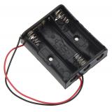 Отсек для трёх батареек типа АА